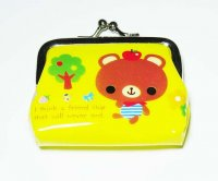 Cute Brown Bear Coin Purse