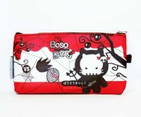 Boso Gang Red Skulls Pouch