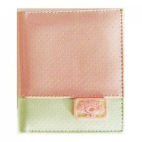 Harajuku Style Wallet Patent Leather Light Pink Creme Color