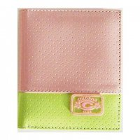 Harajuku Style Wallet Patent Leather Light Pink Green Color