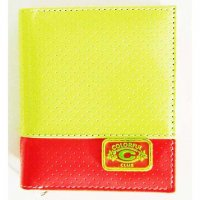 Harajuku Style Wallet Patent Leather Light Green Orange Color