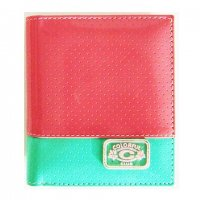 Harajuku Style Wallet Patent Leather Pink Green Color