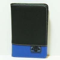 Harajuku Style Wallet Purse - Black/Blue