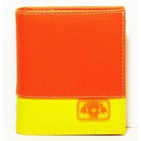 Harajuku Style Wallet Orange/Yellow Color