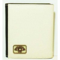 Harajuku Style Two-Way Wallet Purse - Creme Brown