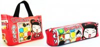 Mimori Jellies Kawaii Cute Bag & Pencil Pouch Set