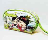 Mimori Kawaii Green Makeup Pouch Bag