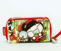 Mimori Strawberry Cheesecake Cute Kawaii Wrist Wallet Purse