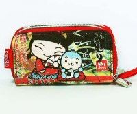 Mimori Japanese Fan Cute Kawaii Wrist Wallet Purse