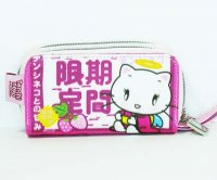 Tenshi Neko Pink Strawberry Wrist Wallet Purse