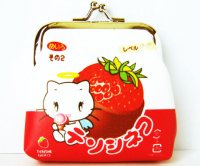 Tenshi Neko Strawberry Coin Purse