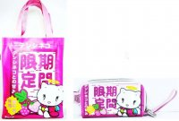 Tenshi Neko Cute Strawberry Shoulder Bag & Wrist Wallet Purse