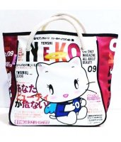 Tenshi Neko Kawaii Angel Tote Bag