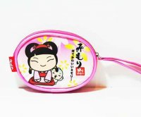 Mimori Kawaii Pink Coin Purse Accessory Pouch