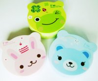 Cute Kawaii Animal Shaped Contact Lens Case Set