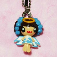 Clay Little Angel Keychain Strap