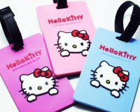 Hello Kitty Luggage Tags