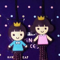 Prince and Princess Mobile Camera Wrist Strap