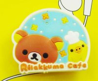 Rilakkuma Earphone Cord Winder - Blue Chef