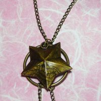 Bronze Star Fashion Necklace