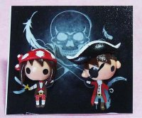 Ahoy Matey Pirates Clay Earrings