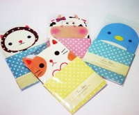Cute Animals Letter Set