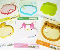 Cute Animal Post-It Sticky Notes