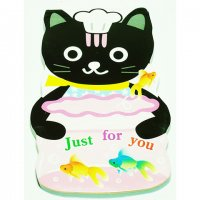 Cute Cat Chef Die Cut Paper Notepad