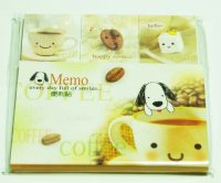 Coffee Lover Kawaii Mini Post-It Sticky Notes