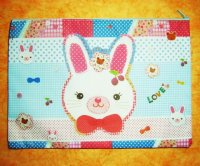 Rabbit and Friends Kawaii Collection Pouch