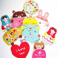 Say You Love Me Kawaii Gift Card Set