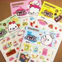Mamegoma Seal San-X Kawaii Sticker Sheet