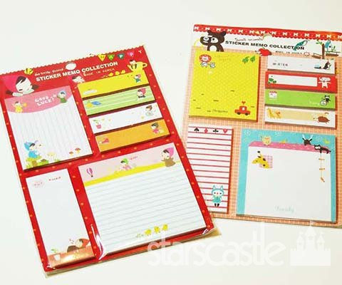 super cute post it memo sticky notes collection post it sticky