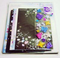 Q-Lia Letter Set Kawaii Stars and Gems