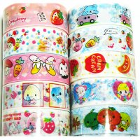Cute Deco Tape Mixed Set L - 10 rolls