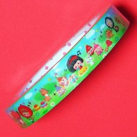 Kawaii Fairy Tale Characters Deco Tape - Pool Cool