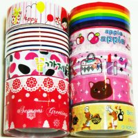 Cute 10 roll Deco Tape Mixed Set R2